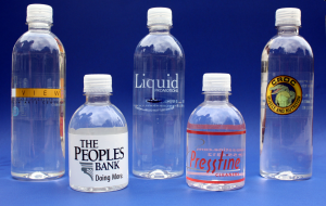 water bottle labels, custom labeled bottled water