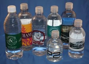 custom bottle water labels Birmingham Alabama, custom water bottle labels